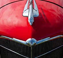 1934 Oldsmobile Hood Ornament by Jill Reger