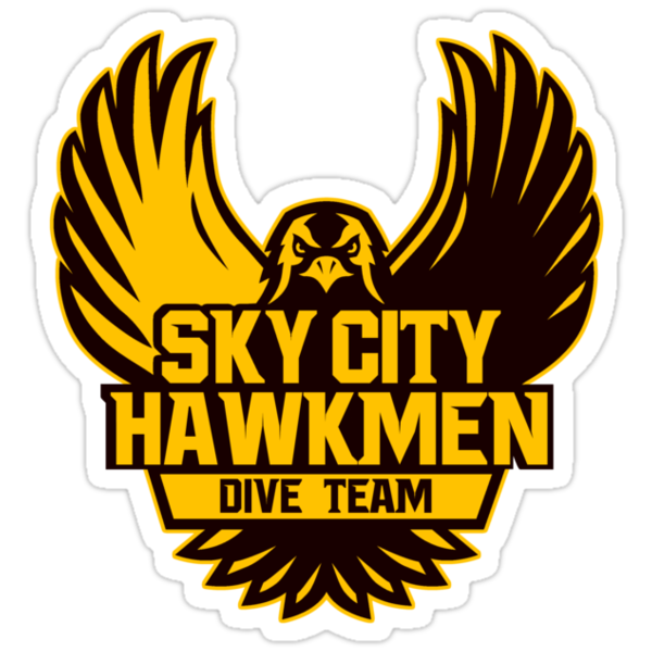 Hawkmen Dive Team by AngryMongo