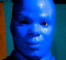 Blue Man by Michael Brewer