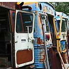Old School Buses by RebekahShay