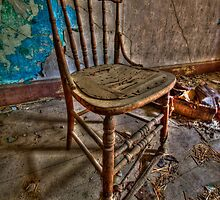 Old Chair by Andre Faubert