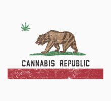 Vintage Cannabis Republic by colorhouse