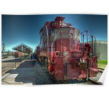 Grapevine Vintage Railroad GP-7 Diesel  Poster