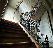 Upstairs by Jean-Claude Dahn