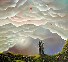 (All For You) By Fantasy Fairytale Landscape Artist Philippe Fernandez by Philippe Fernandez