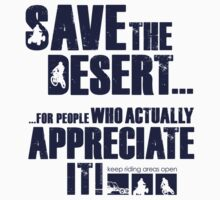 Save The Desert T-shirt by Janja