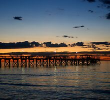 Last Light On Largs by Cherie Vivar