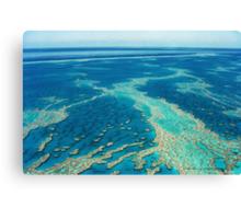 The Great Barrier Reef © Vicki Ferrari Canvas Print