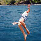 Island Hopping Boy© Vicki Ferrari by Vicki Ferrari