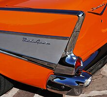1957 Chevrolet Belair Taillight by Jill Reger