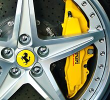 Ferrari Wheel by Jill Reger