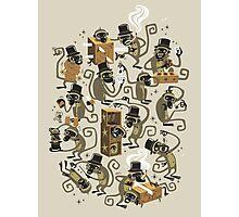 Monkey Magic (brown) Photographic Print