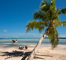 Deserted Beach - Pakin Atoll, Micronesia by Alex Zuccarelli