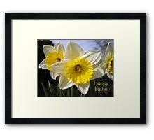 Easter Daffodils Framed Print
