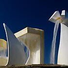 Albatross Fountain 2 by Werner Padarin