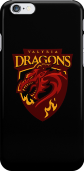 Go Dragons! - IPHONE CASE by WinterArtwork