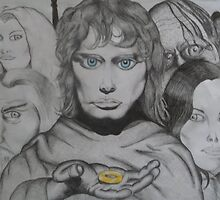 Frodo and crew by Gez Sullivan