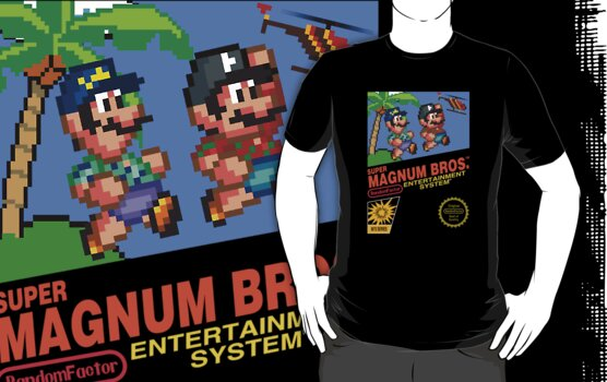 Super Magnum Bros (WITH ADDED HATS!) by TheRandomFactor