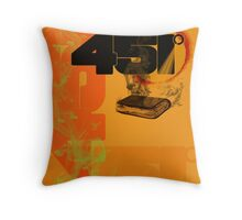 farenheit 451 Throw Pillow