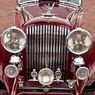 1934 Bentley 3.5 Litre Drophead Coupe Grille by Jill Reger