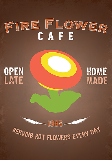 Fire Flower Cafe - Remix by thehookshot