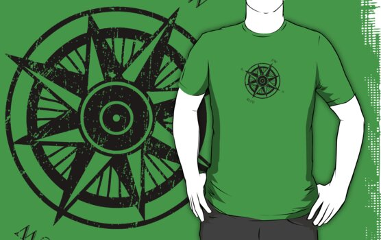 Ringworld Compass Rose by robotplunger