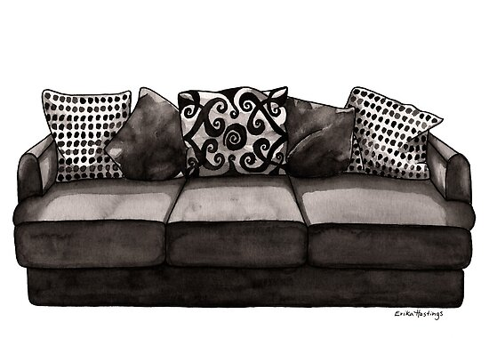 If My House Were a Couch by Erika  Hastings
