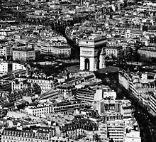 Paris - Arc de Triomphe by Thomas Splietker