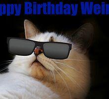 Happy Birthday Weirdo by Ladymoose