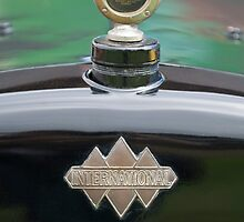 1930 International Six Speed Special Pickup Truck Hood Ornament by Jill Reger