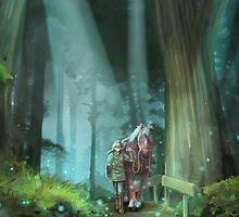 The Zelda Legend by pertheseus
