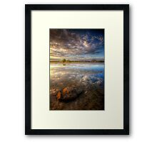 Lonesome Stone Framed Print