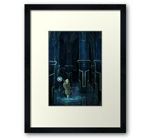 Water Temple  Framed Print