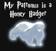 My Patronus is a Honey Badger Kids Clothes