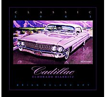 1961 Cadillac Eldorado Biarritz Convertible ver 2 Photographic Print