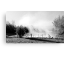 7.3.2012: From the Bank of Cold River V Canvas Print