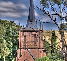 St Paul's Anglican Church, Carcoar, NSW by Adrian Paul