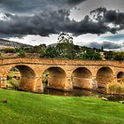 Richmond Bridge - Tasmania - HDR by Chris Sanchez