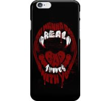 Real Bad Things iPhone Case iPhone Case/Skin