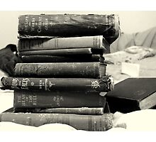 Books of a Certain Age Photographic Print