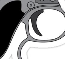 Men in Black mini Gun Sticker