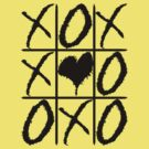 The Weeknd&#x27;s Noughts and Crosses (Black) by Faded Fabrics