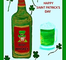 Happy Saint Patrick's Day by Cathy Turner