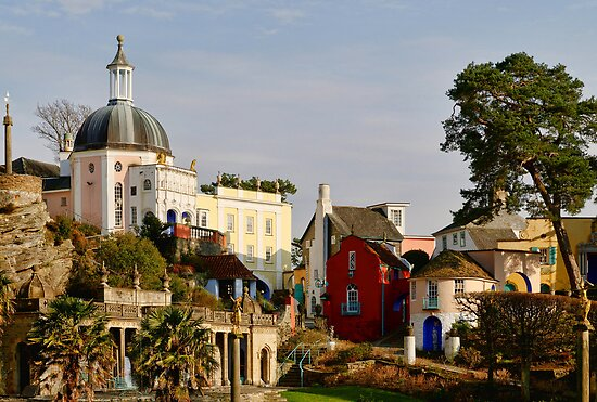Classic Portmeirion by Simon Hickie