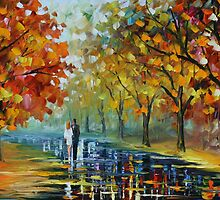 ROMANTIC MOMENT - LEONID AFREMOV by Leonid  Afremov