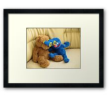 Grover and Stefan Framed Print