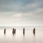 Ayrshire coast seascape by Grant Glendinning