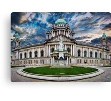 Belfast City Hall Canvas Print