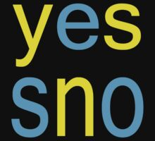 Yes Sno by noart