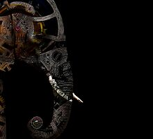 clockwork elephant by tinncity